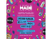 MADE Festival - FIRST RELEASE TICKETS!!