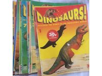 Dinosaur magazines Orbis Play and Learn Collection