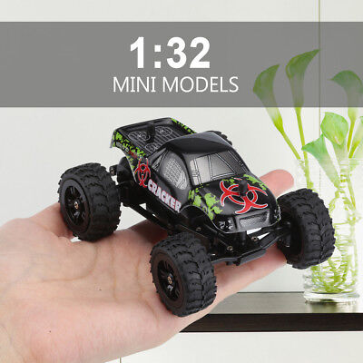 1:32 4CH 2WD 2.4GHz Mini Off-Road RC Radio Racing Car Monster Truck BuggyVehicle
