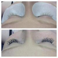 certified EYELASH extension tech
