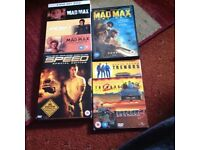 Complete Mad Max Collection all four Movies as New,Tremors Box Set,Speed Box set