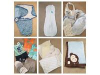 Baby Boy 0-3 Month Bundle