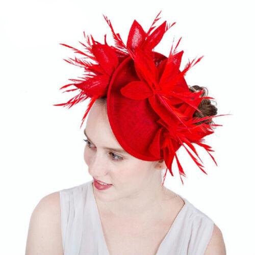 Fascinator Haarreif Braut Haarschmuck Hut Cocktail Party Tee Kopfbedeckung