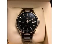 Tag Heuer Carrera Calibre 5 (Black dial, Automatic, like new)