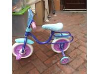 Frozen Childs bike.