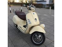 2008 Vespa Gtv 125cc Scooter £1499