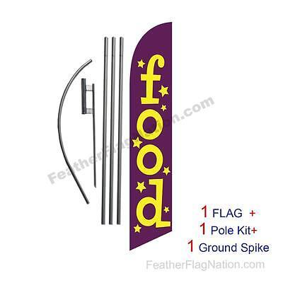 four STOP SAVE NOW 15 Swooper #8 Feather Flags KIT 4