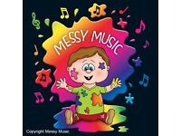 MESSY MUSIC PARENT AND TODDLER CLASS! LETS GET MESSY!