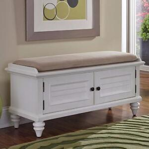 Kenduskeag Upholstered Storage Entryway Bench by Breakwater Bay - Brand New