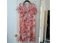 Beautiful Mother of the Bride Dress by EastexBNWOT Size 20 Coral Mix