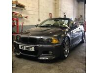 BMW e46 M3 facelift 360bhp