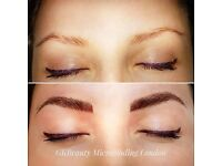 Microblading eyebrows now only £180 instead of £250