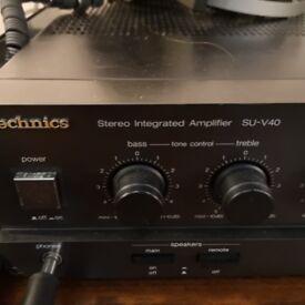 Technics hifi amplifier SU-V40