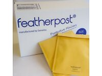 Featherpost mailing bags with internal bubble wrap full range of sizes