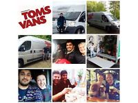 Tom's Vans - Your Local Man with a Van, Brighton's friendliest professional Man and Van Service