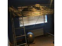 Silver cabin/loft bed
