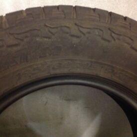 195/80/15 jeep tyres X4 hankook