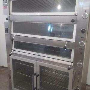 Brute Deck Commercial Oven - w/ Proofer Below
