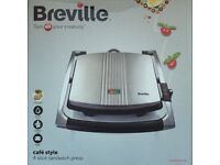 Breville Cafe Style 4 Slice Sandwich Press