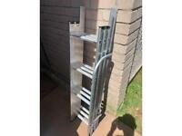 REDUCED telescopic loft ladder