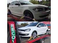 RECOVERY & TRANSPORTATION SERVICE IN DERBY AND NOTTINGHAM