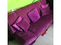 Sofabed plus chair as NEW