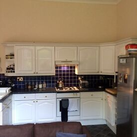 Two bedrooms, large and spacious Victorian flat