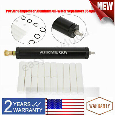 Aluminium Alloy Pcp Air Filter Compressor Oil-water Separator High Pressure Usa