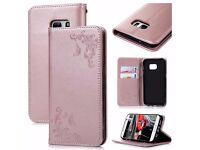 VertTek Samsung Glaxy S6 Edge Leather Case **Brand New**