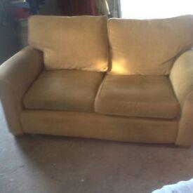 Comfortable 2 seater sofa
