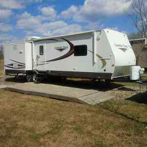RV Trailer 34 ft on Leased Lot @ Candle Lake GC and RV Park