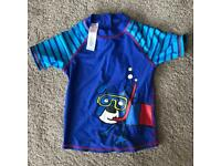 Debenhams age 5-6 sun safe swim top