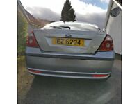 FORD MONDEO, DAMAGED BACK