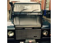 Landrover defender 110 double cab