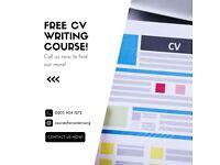 FREE CV writing course