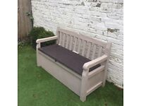 Bench Garden Storage Kanter