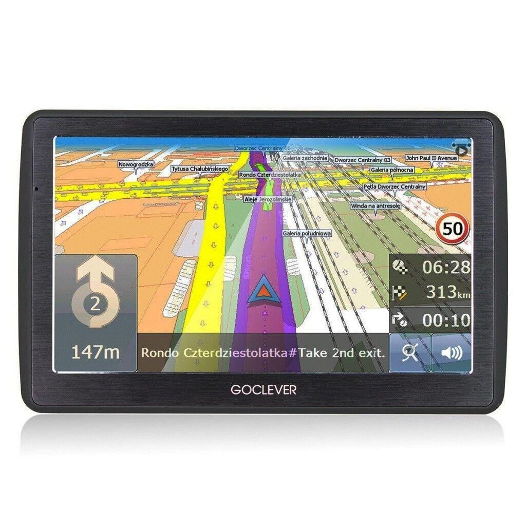 Navigationssystem GoClever Navio 2 540 mit Weltkarte 5 Zoll Navi 4GB Navigation