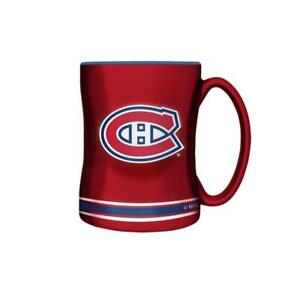 Montreal Canadiens 14 Ounce Sculpted Relief Mug (New) Alberta Preview