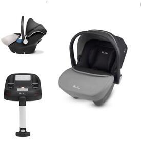 Silver cross simplicity car seat & isofix base