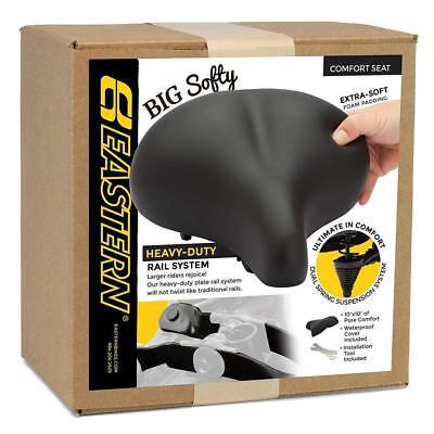 Big Soft Softy Premium Cruiser Bike Seat Saddle w/ Cover & Tool
