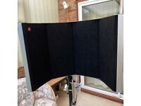 sE Electronics RF-Space Reflexion Filter with FREE Stand