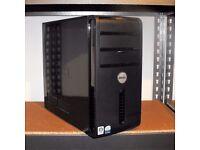 Dell Vostro 200 Windows 10 PC Core 2 Duo Desktop Computer Tower 2GB RAM 160GB HDD Microsoft Office