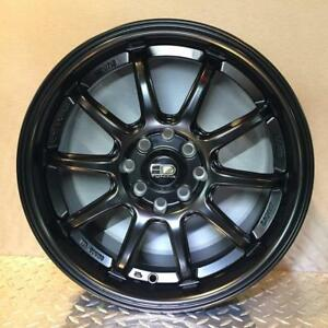 **PROMOTION** MAGS NEUFS 18'' 5 X 114.3 HD WHEELS CLUTCH SATIN BLACK