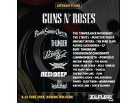 GUNS N' ROSES DOWNLOAD TICKETS SATURDAY 9TH JUNE - £149 EACH