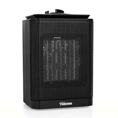 Tristar Calefactor Cerámico 1500 W Portátil Eléctrico Calentador de Camping