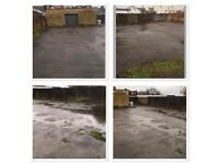 YARD WITH SECURE STORAGE AVAILABLE FOR RENT IN RAINHAM KENT
