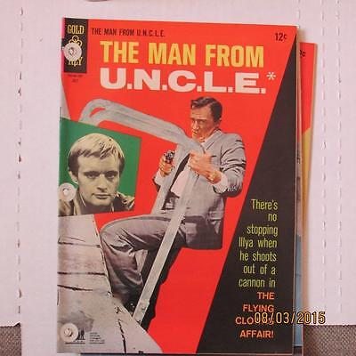 Man from U.N.C.L.E. 13 VG/FN 3 hole punches SKU15386 60% Off!