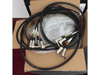 Fractal ax/fx friendly 4 Cable loom / 6 Metres (3xhumbuster-mono & 1xmono-mono)