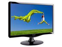 ViewSonic VA1931wa-LED 19 LCD Monitor MONITOR HOME OFFICE COMPUTER CCTV GRADE