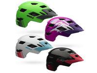 Bell Sidetrack cycling helmet bmx mountain bike junior youth small medium large cheap boys girls